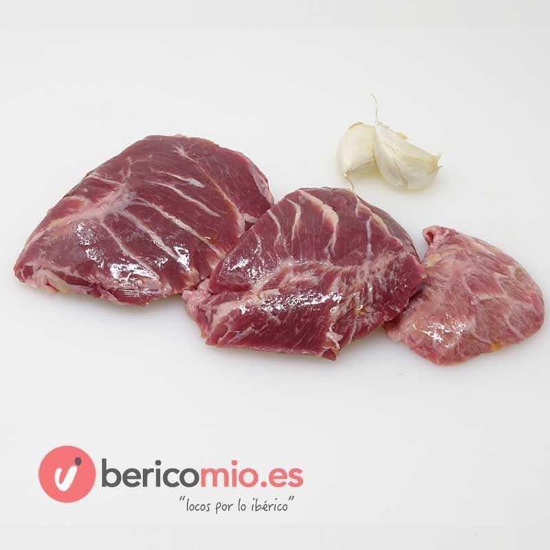 Carrilleras ibéricas - Carne de cerdo Ibérico