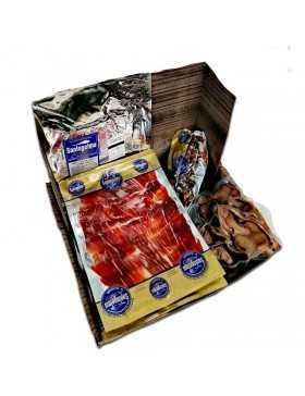 caja regalo de jamon de bellota a cuchillo