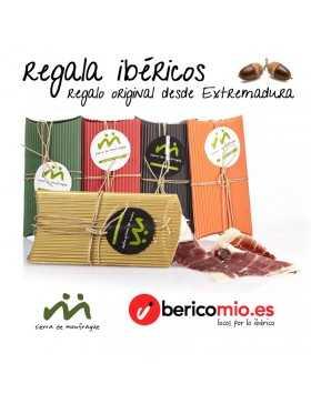 Regala ibéricos - Pack jamón ibérico y embutido ibérico Extremeño