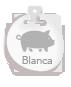 Producto ibérico de etiqueta Blanca